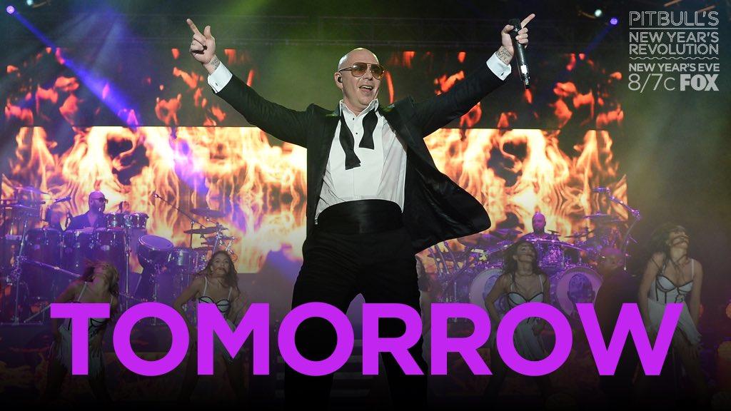 #PitbullNYE tomorrow @pitbull YAYYYYYYYY 💓💓💓