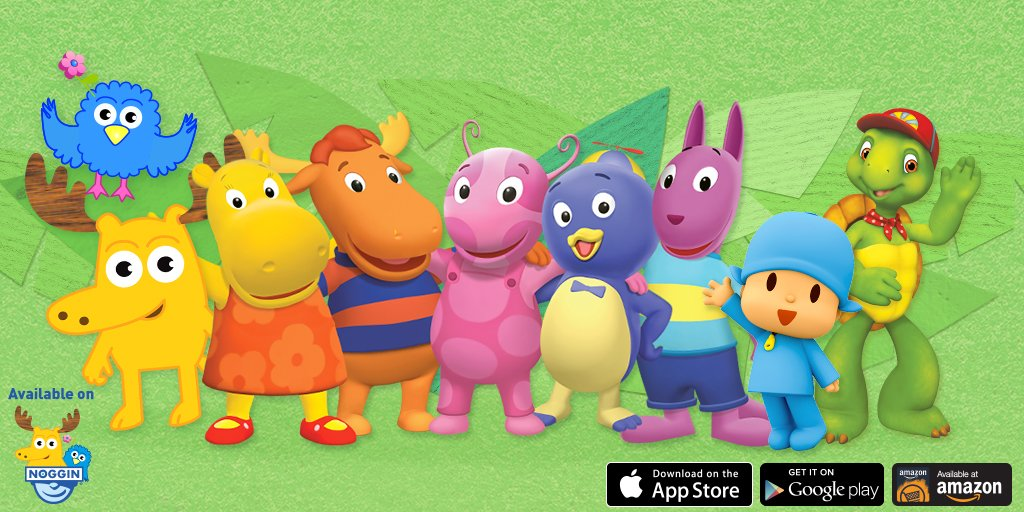 noggin on twitter 10 new episodes of the backyardigans have been