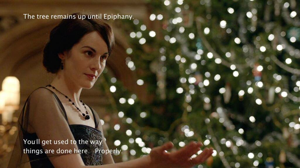 An oldie from @UnvirtuousAbbey but a goodie. Special thanks to @DowntonAbbey for the assist. #Christmas #Epiphany https://t.co/eWv0eZvxJX