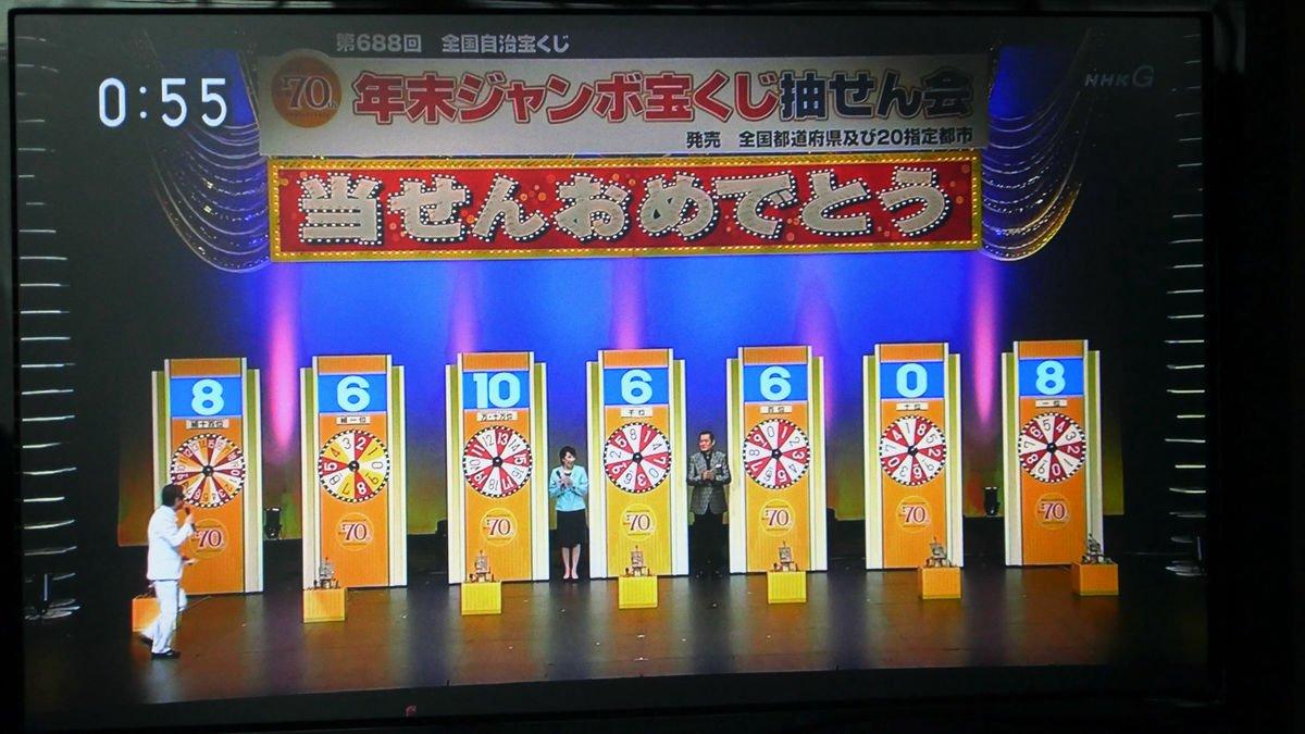 宝くじ ミニ ジャンボ 年末 発表
