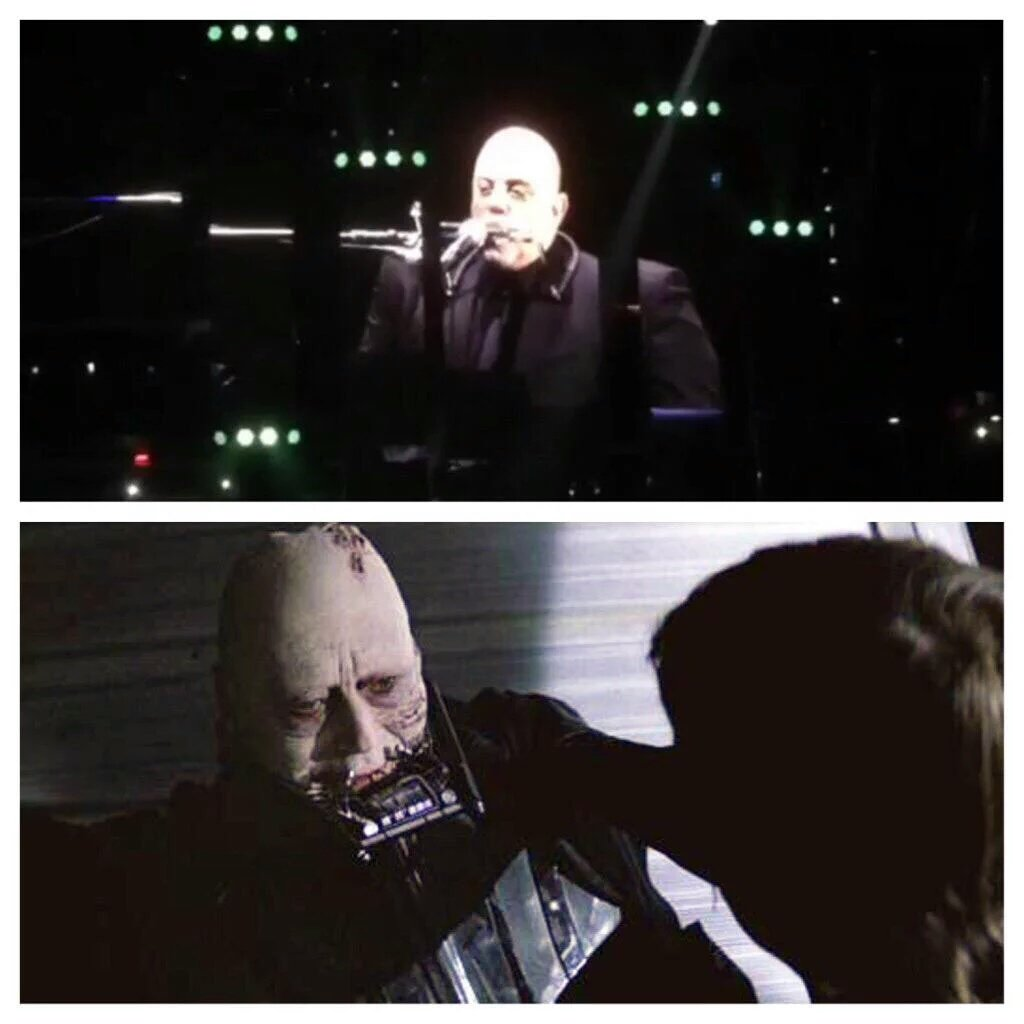 Billy Joel playing harmonica looks like dying Anakin Skywalker. From imgur. https://t.co/Br2PCQghMc
