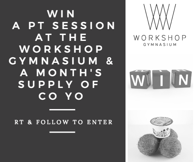 WIN a session theworkshopgym  amp  a months supply of CO YO! RT  amp   Follow to enter!  com… https   t.co bWUinFsBsu  com f7bf1e9679fa7