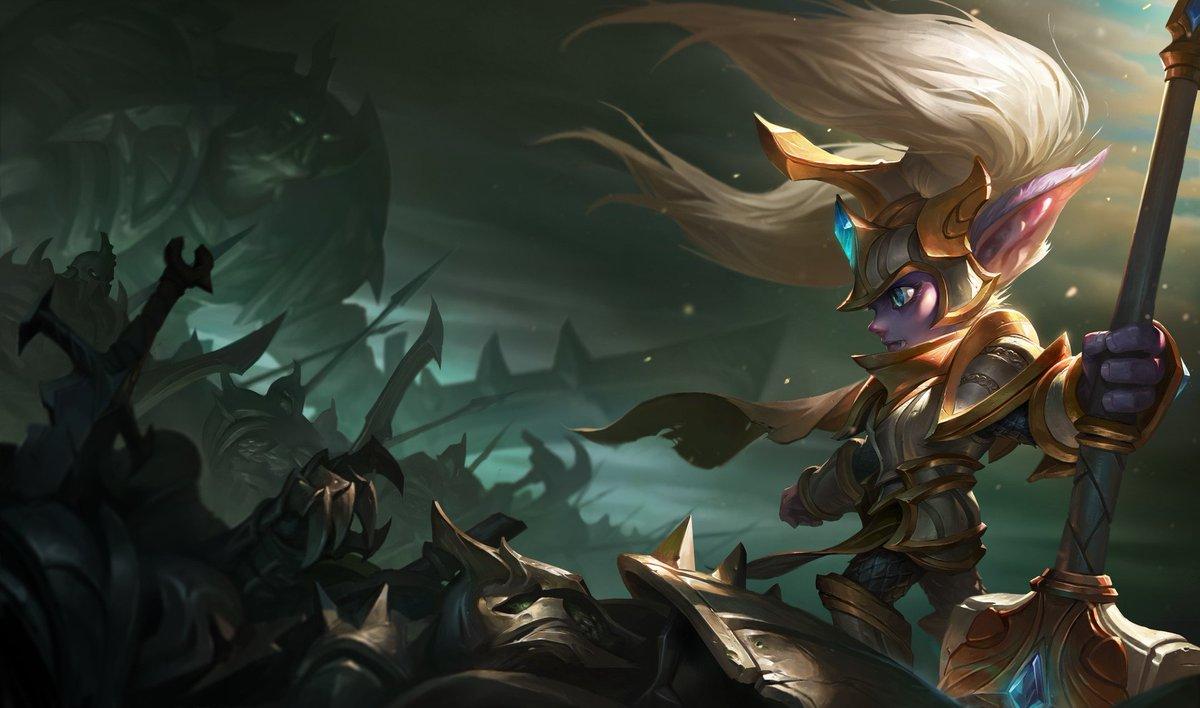 """League Of Legends Poppy Wallpaper: Ulkhror On Twitter: """"Amazing Battle Regalia Poppy #lol"""