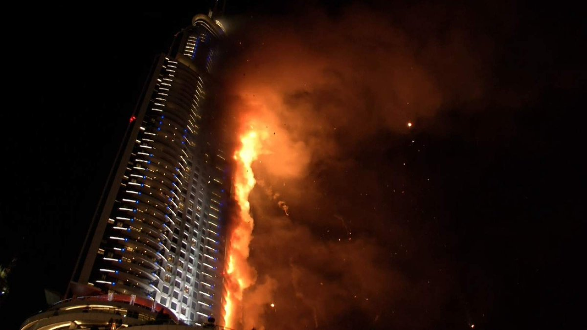 Official says there are no injuries in Dubai hotel fire & NYE celebrations will proceed https://t.co/2XWl3ZQKIW https://t.co/J60Lwm1K56