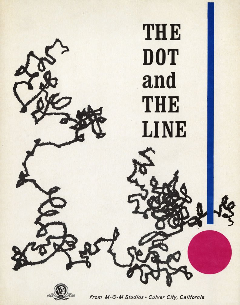 "Today in 1965: The animated classic ""The Dot and the Line: A Romance in Lower Mathematics"" by #ChuckJones premiered. https://t.co/w3dbi248m9"
