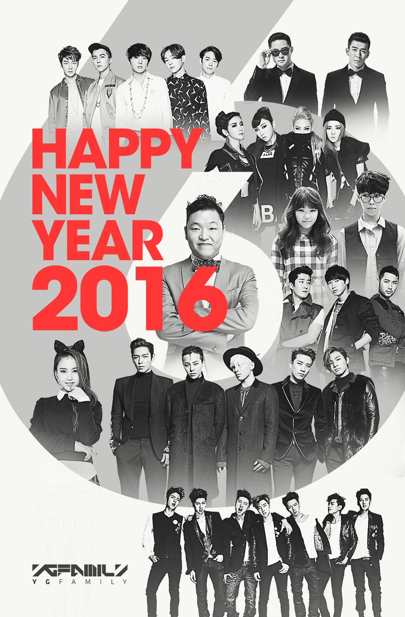[YG-FAMILY - HAPPY NEW YEAR 2016] originally posted by https://t.co/XZQ3IOI9MY #YGFAMILY #HAPPYNEWYEAR