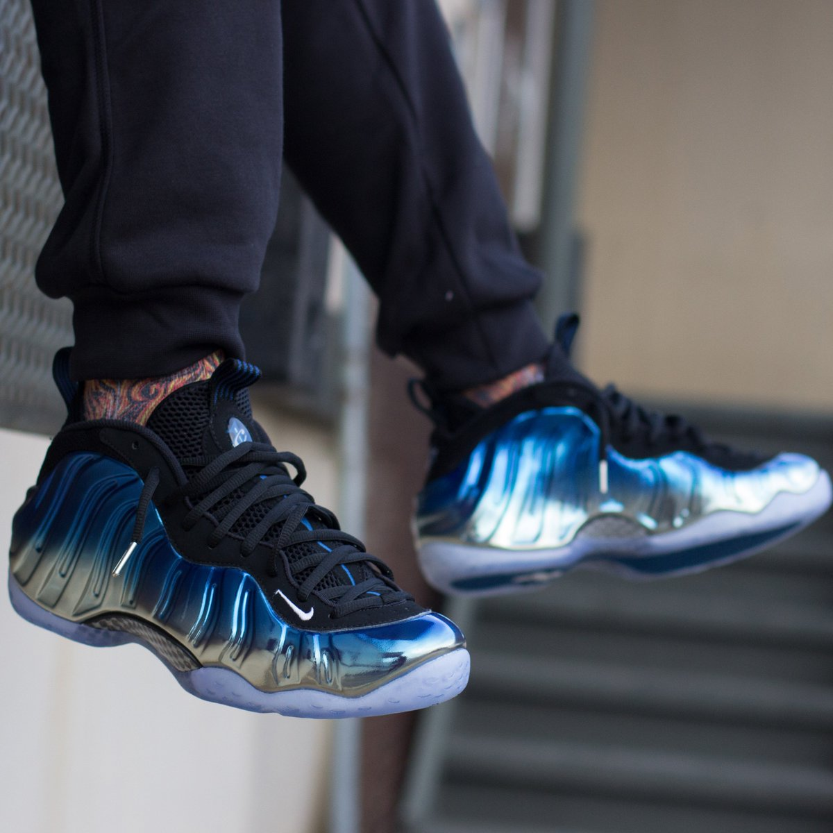 best website 1cec1 3a8fa ... purchase city gear on twitter the nike air foamposite one premium blue  mirror is sold out