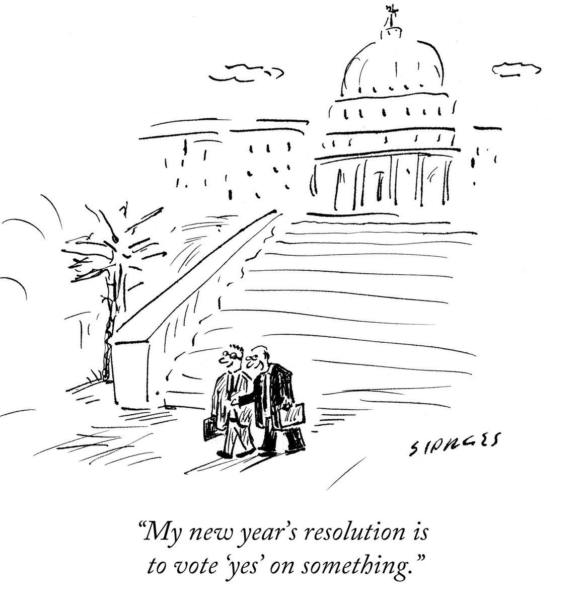 "The New Yorker on Twitter: ""A cartoon by David Sipress. Discover more  cartoons with our randomizer tool: https://t.co/HopNK4vpmp  https://t.co/P9ENn5lnzE"""