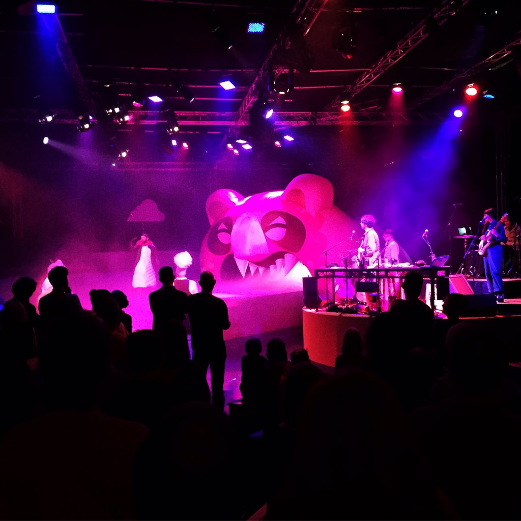 Took the kids to see #NTWCandylion again... Incredible stuff @gruffingtonpost @NTWtweets Only 3 show left... https://t.co/3JL2EOfWRD