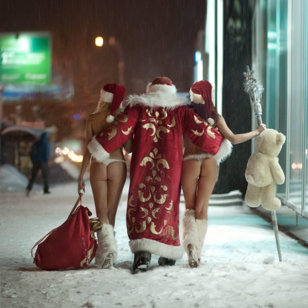 фото дед мороз и голая снегурочка