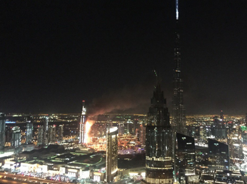 Massive fire overtakes hotel in Dubai amid New Year's celebrations  https://t.co/NcDJjEVcFT https://t.co/siTJjDkDCS