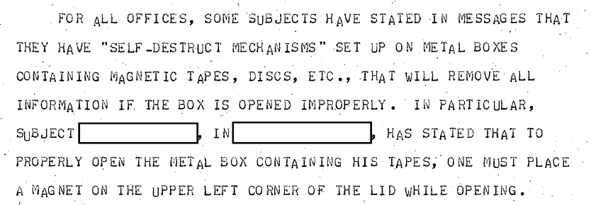 LOL this hacker told the FBI in 1983 that they could only safely open his confiscated drives by using a magnet https://t.co/XTq9r69ptr