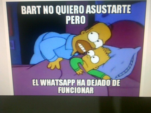 #WhatsApp Mientras tanto en la casa de Homero ................... https://t.co/eKEnseyCeR