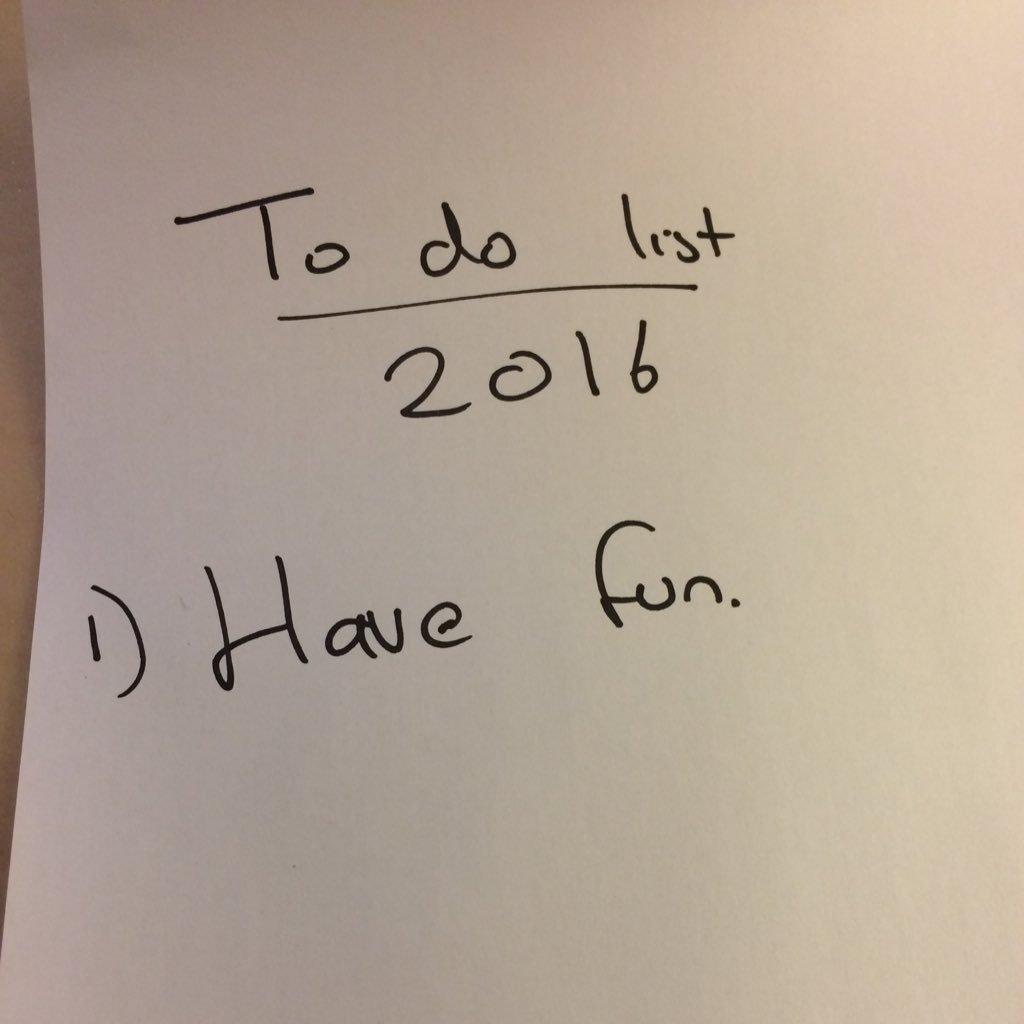 2016 all planned out. https://t.co/FErInzhMmV