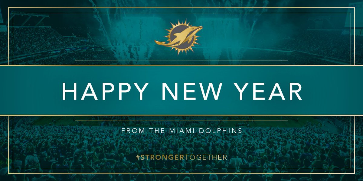 miami dolphins on twitter happynewyear httpstcoy0ncbvlcdk