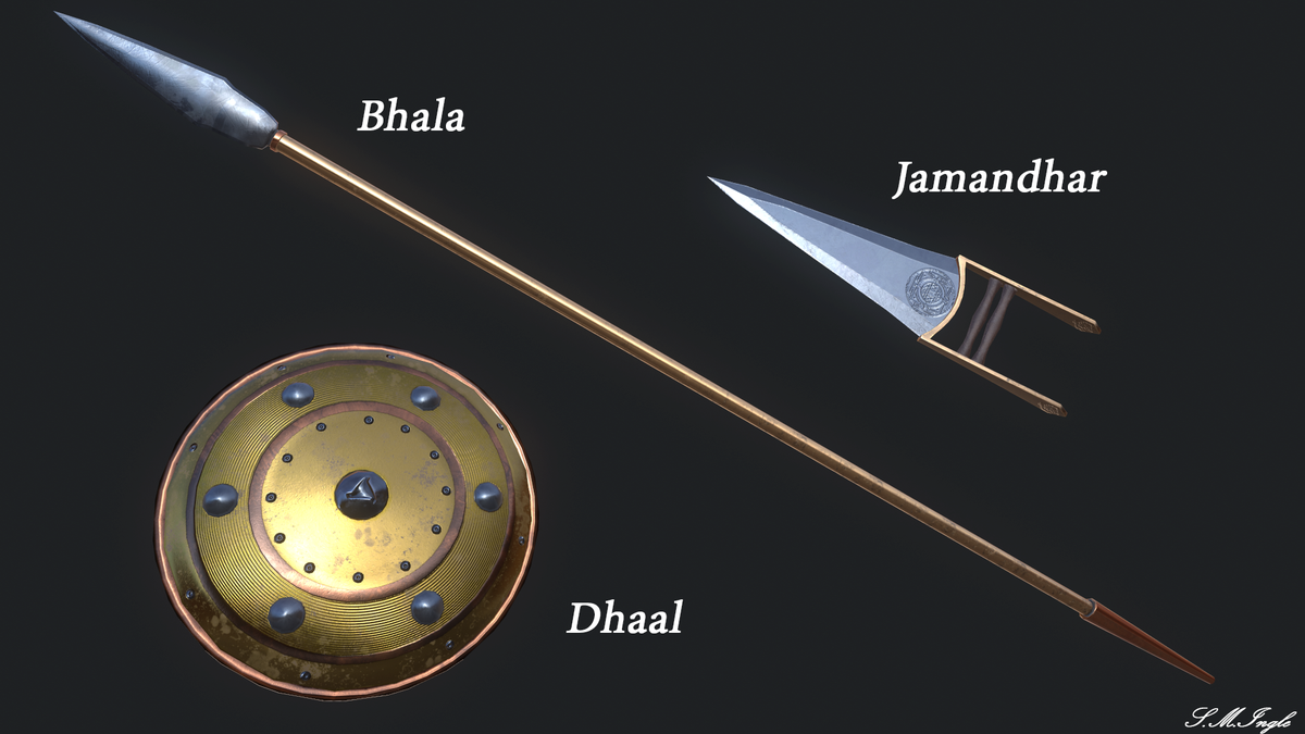 Ancient Indian Weapons - 0425