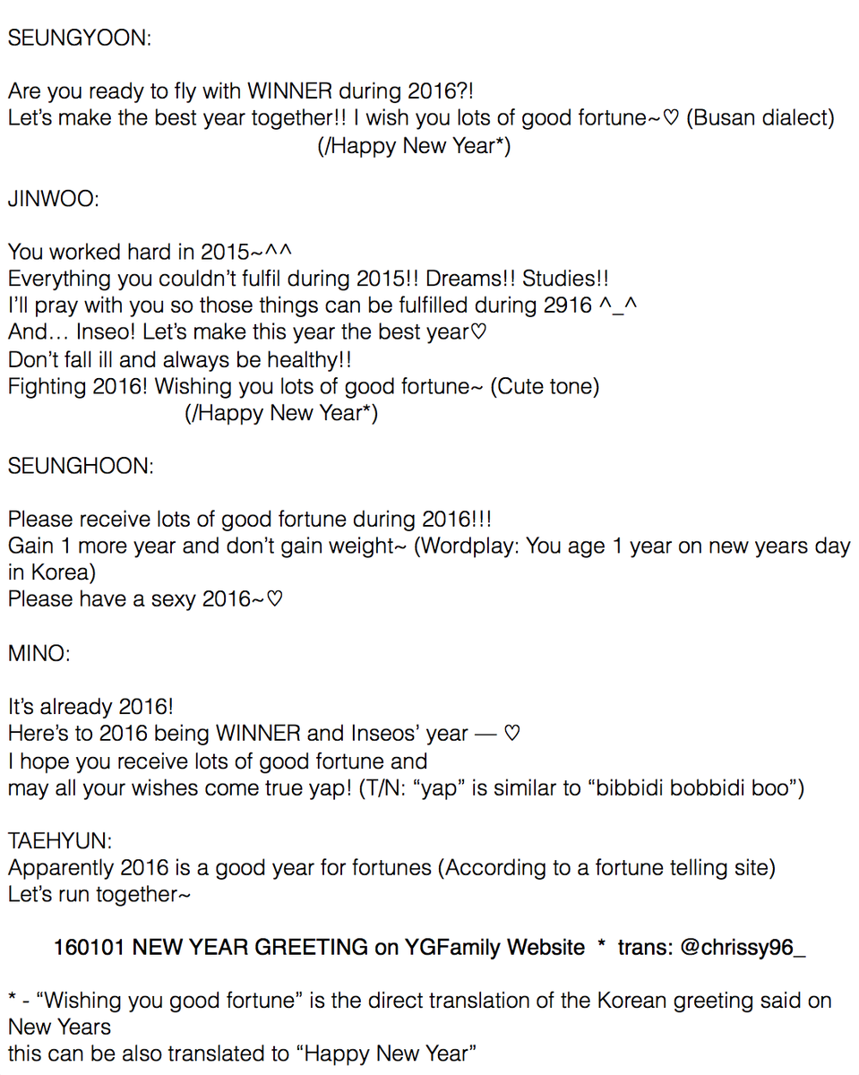 trans 160101 winner new year message on yg family website httpwwwygfamilycomartistnoticeasplangdivkatype2artidx53 pictwittercom