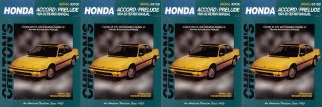 Honda Accord 1995 repair manual pdf