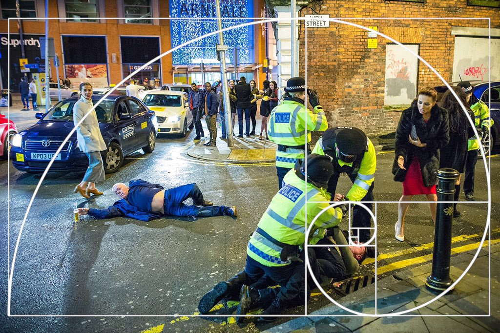 This Photo Of People Falling Over On New Year's Eve Is Being Compared To Renaissance Art