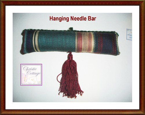 Needle Bar, Hanging Pincushion with tassel https://t.co/y97cjEADNB via @sharethis #CCfrnds #MadeInAmerica https://t.co/9UAwkuymof