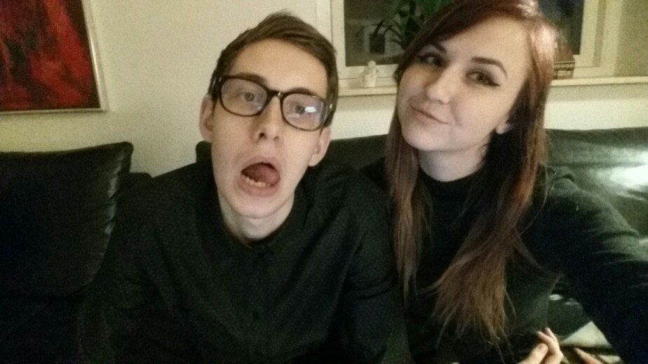 Bjergsen with cute, Girlfriend
