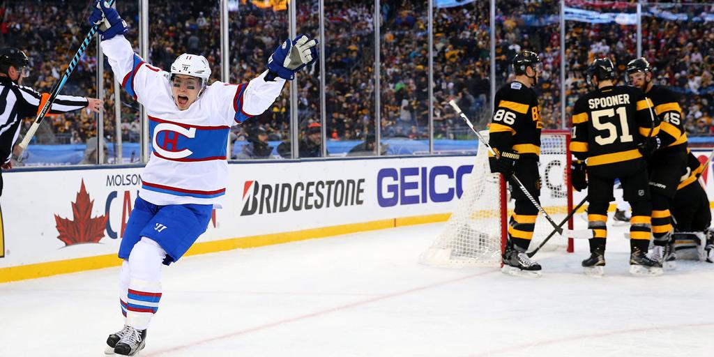 timeless design 54957 02638 Brendan Gallagher leads Canadiens Winter Classic win Bruins ...