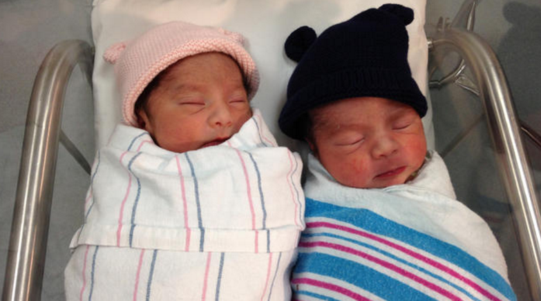 New Year's twins born just three minutes apart --but in different years https://t.co/F6TwqvrSQi https://t.co/h0RxdzYSuF