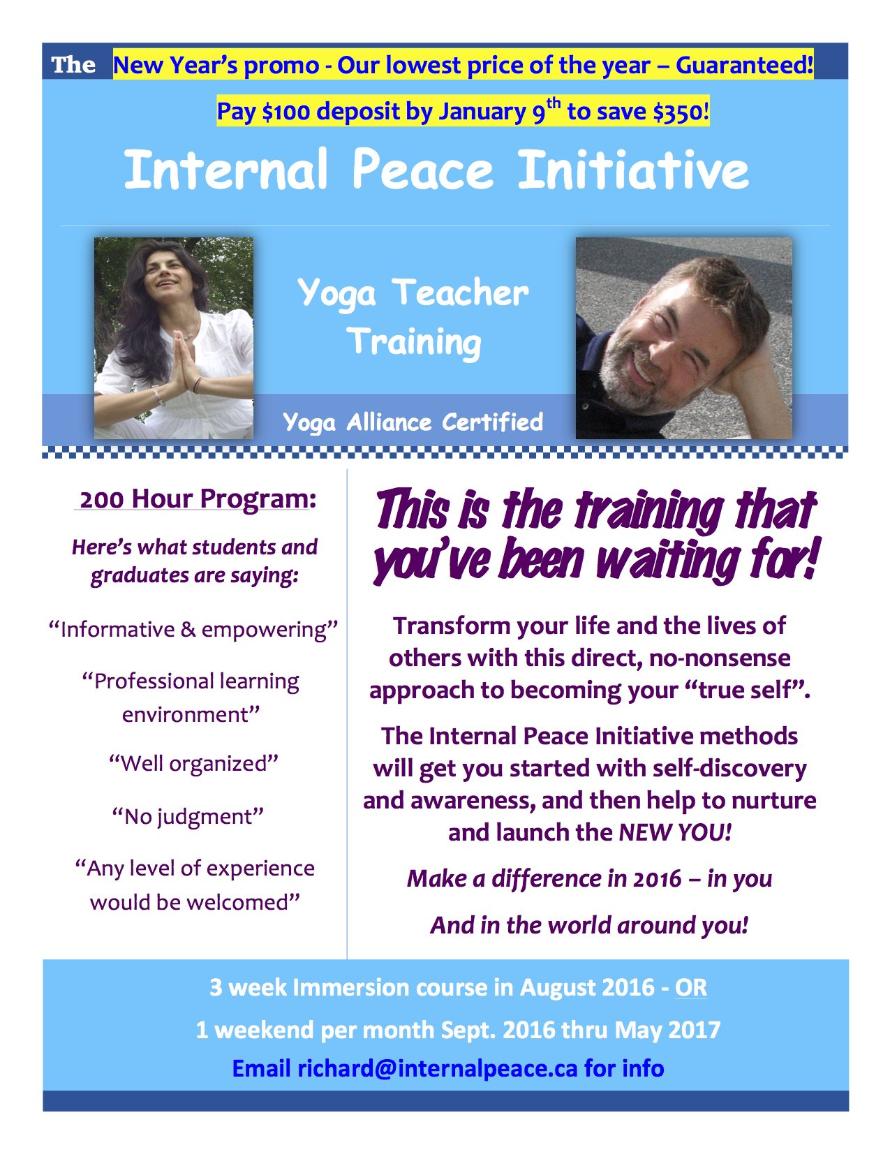 alina calinescu on twitter therapeutic yoga teacher training with internal_peace and alivebyalina in lndont 2 formats to choose from