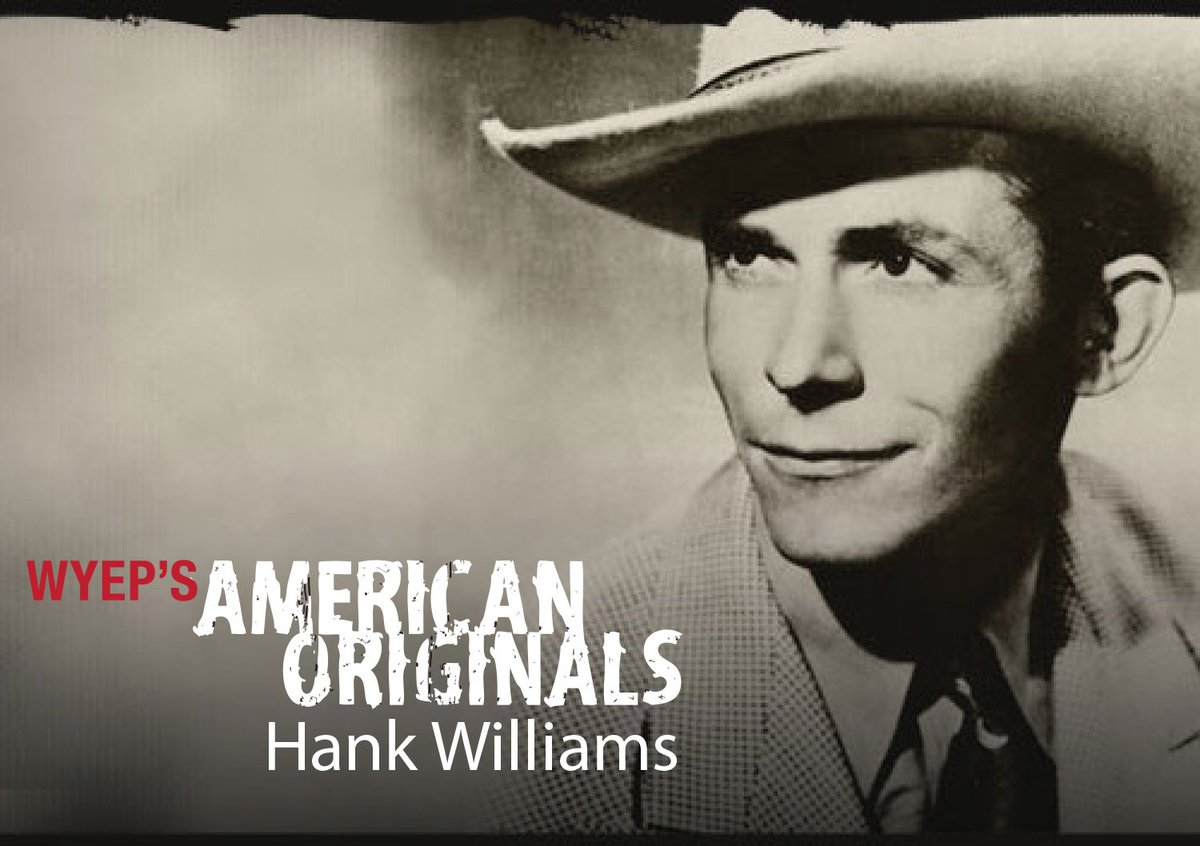 Hank Williams died on New Year's Day, 1953.  Listen to our tribute on American Originals: https://t.co/CJRkH7S1Su https://t.co/il8s6V5zPt