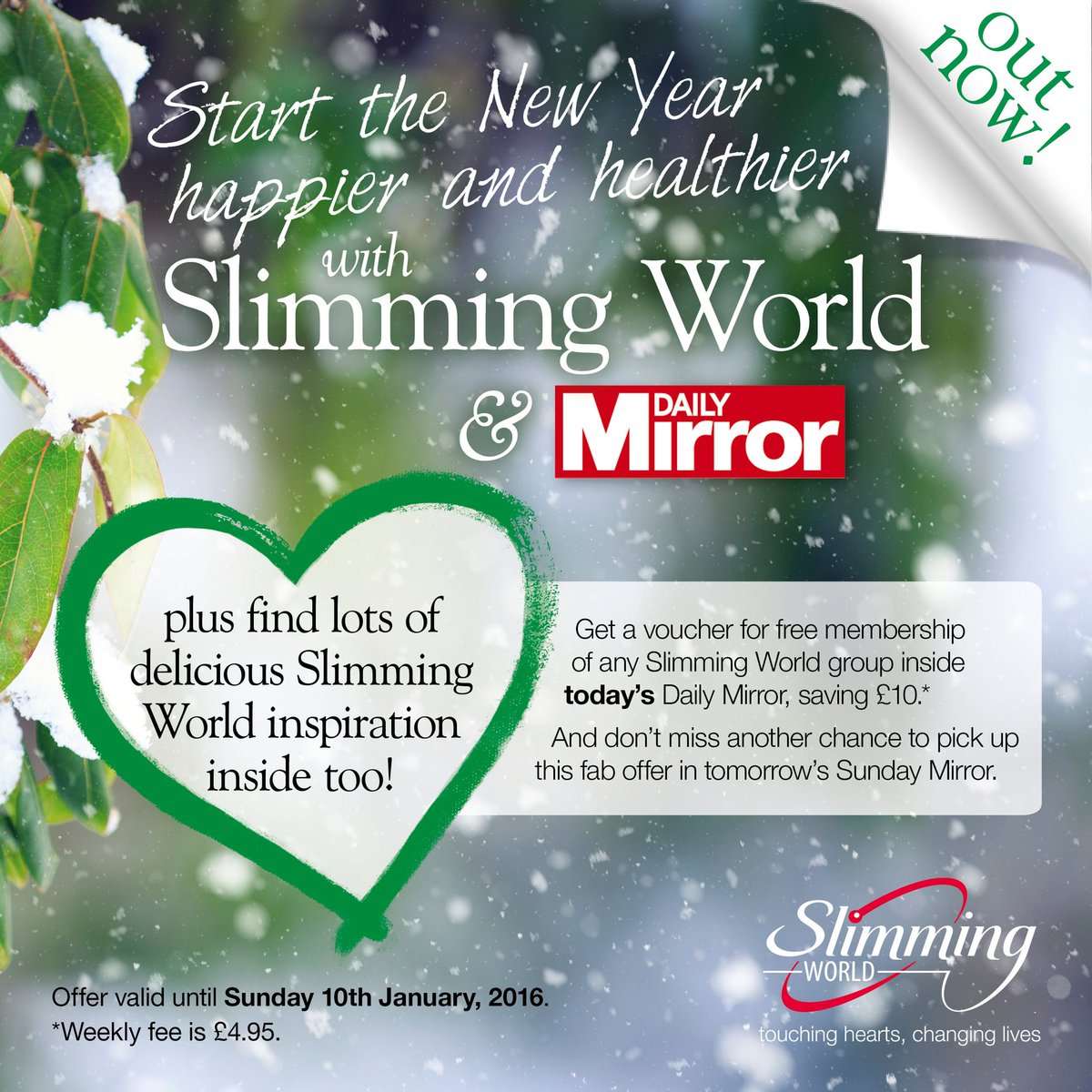 Slimming World On Twitter Great 39 Happy New Year 39 Supplement Plus A Fab Free Slimmingworld
