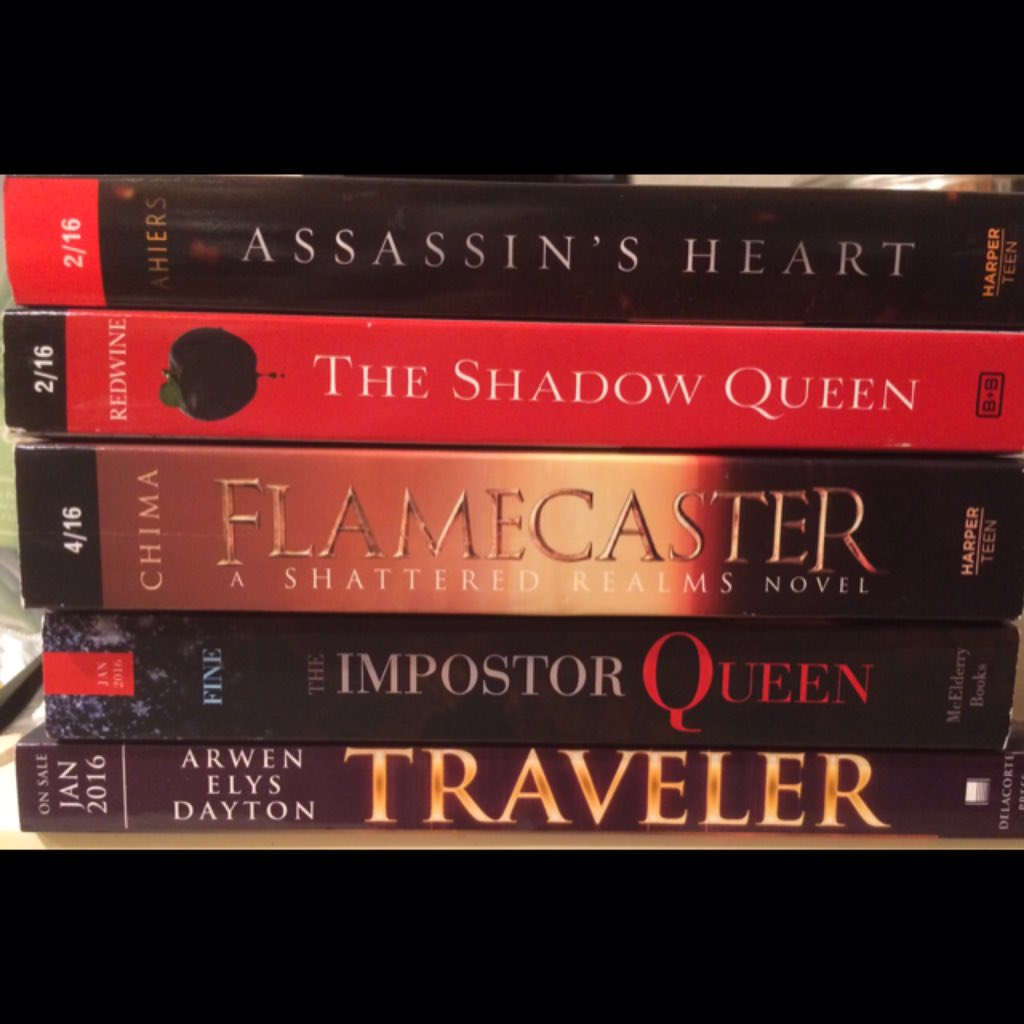Twitter #giveaway! Follow + RT, winner gets this stack of 2016 YA Fantasy ARC's US Only. Ends 1/31! https://t.co/Bzks5xXEYl
