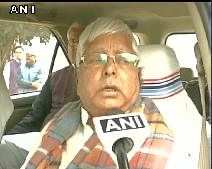 Not right to question foreign policy right now, stand with our soldiers in this fight-Lalu Prasad Yadav #Pathankot