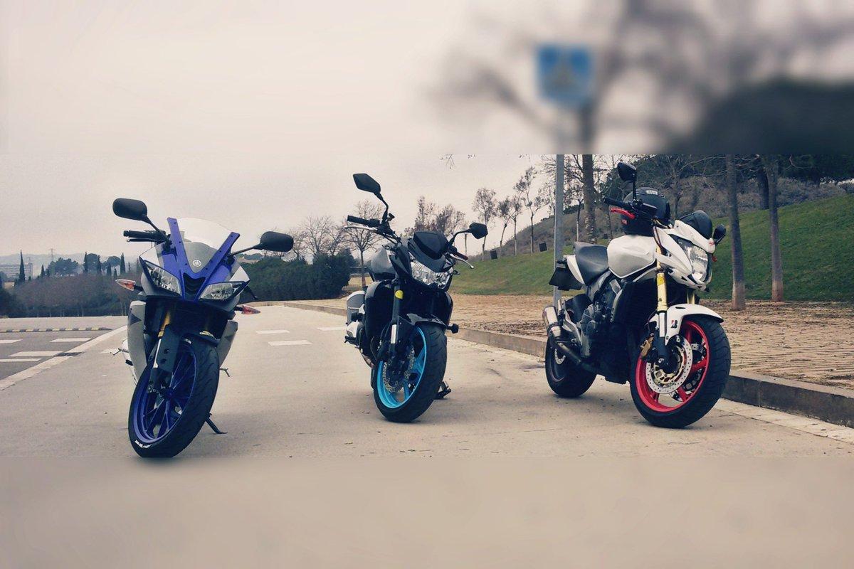 Sheila On Twitter Yamaha Yzf R125 Kawasaki Z750 Honda Hornet