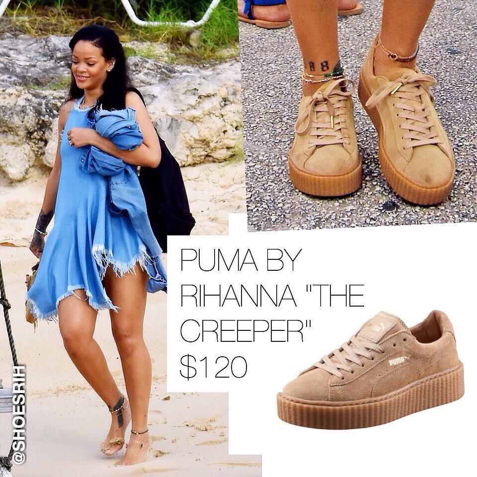 Puma By Rihanna Creeper Oatmeal