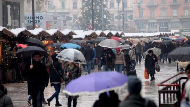 Maltempo: ancora allerta per neve a basse quote e temporali