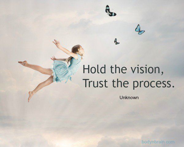 """Ilchi Lee On Twitter: """"Hold The Vision, Trust The Process"""