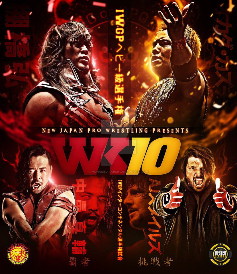 So very cool seeing so many people I know working the 2nd biggest date on the wrestling calendar year #wk10 https://t.co/hhWLzsIfB3
