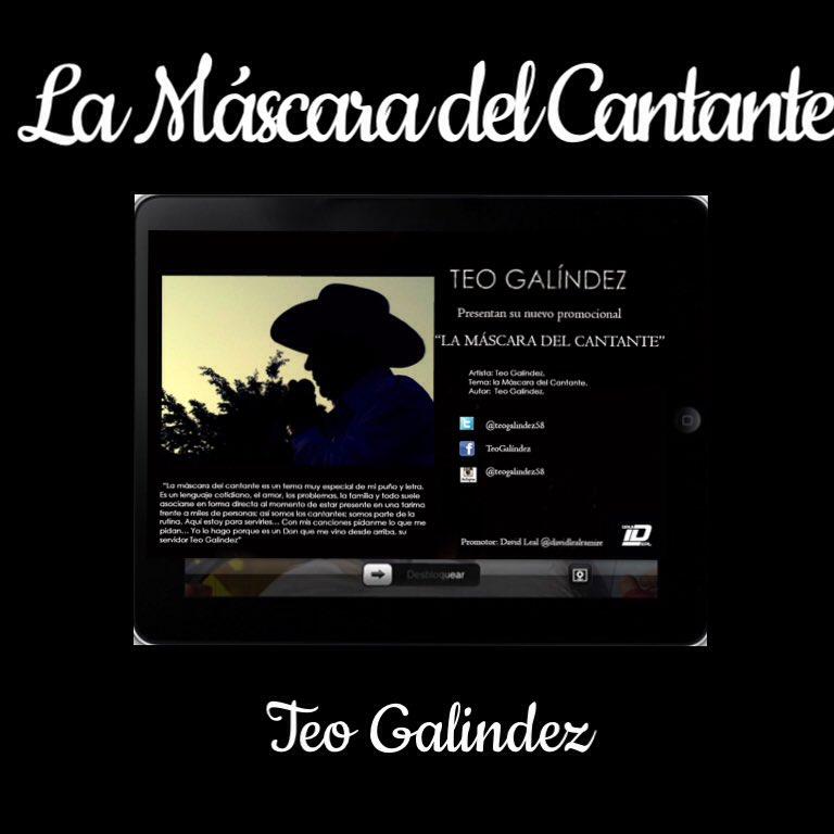 En este 2016 @TeoGalindez58 nos presenta #LaMáscaraDelCantante L&M y Voz https://t.co/dY9t9jkXJ9 https://t.co/OiKqIhb9R4