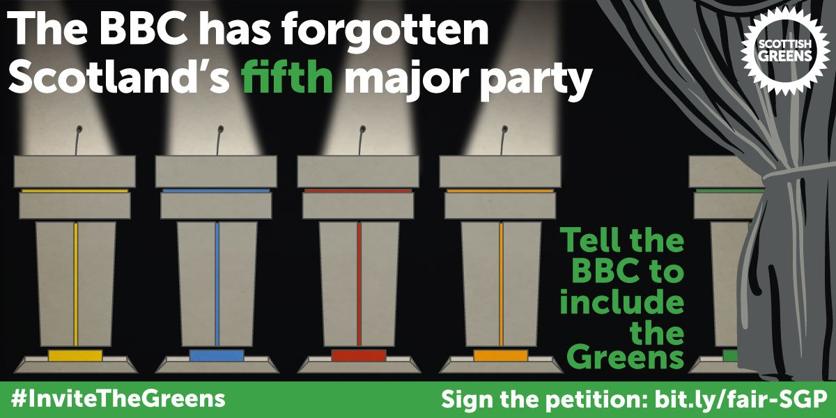 BREAKING: The BBC plans to exclude us from most election coverage. Tell them to reconsider: https://t.co/lDt50uGSzP https://t.co/PUagnJy719