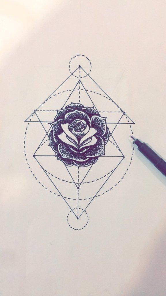 Old Ink Tattoo On Twitter Rosetattoo Drawing Draw Rose