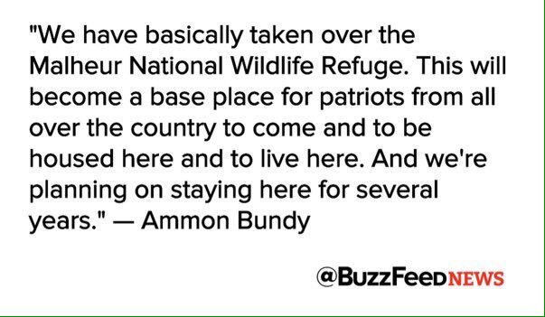 In other words, if Obama won't set up those FEMA camps, we will! #OregonUnderAttack https://t.co/mTjXsLjoGN