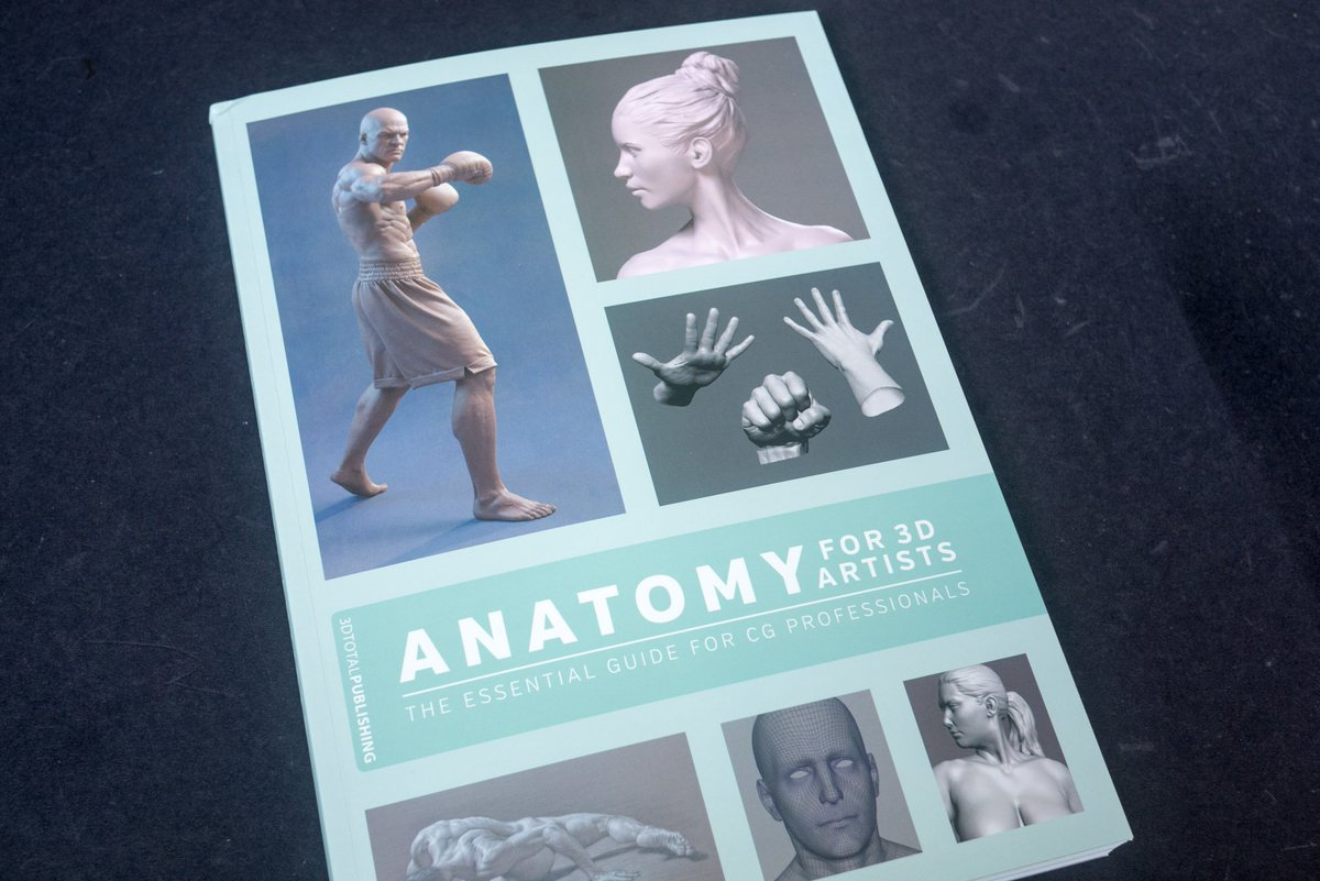 Parka On Twitter Review Anatomy For 3d Artists The Essential