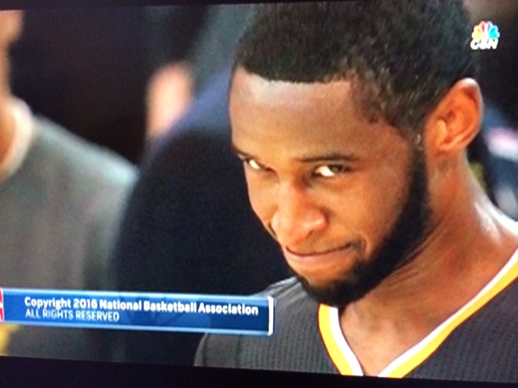 I love the face that they just showed of @IanClark