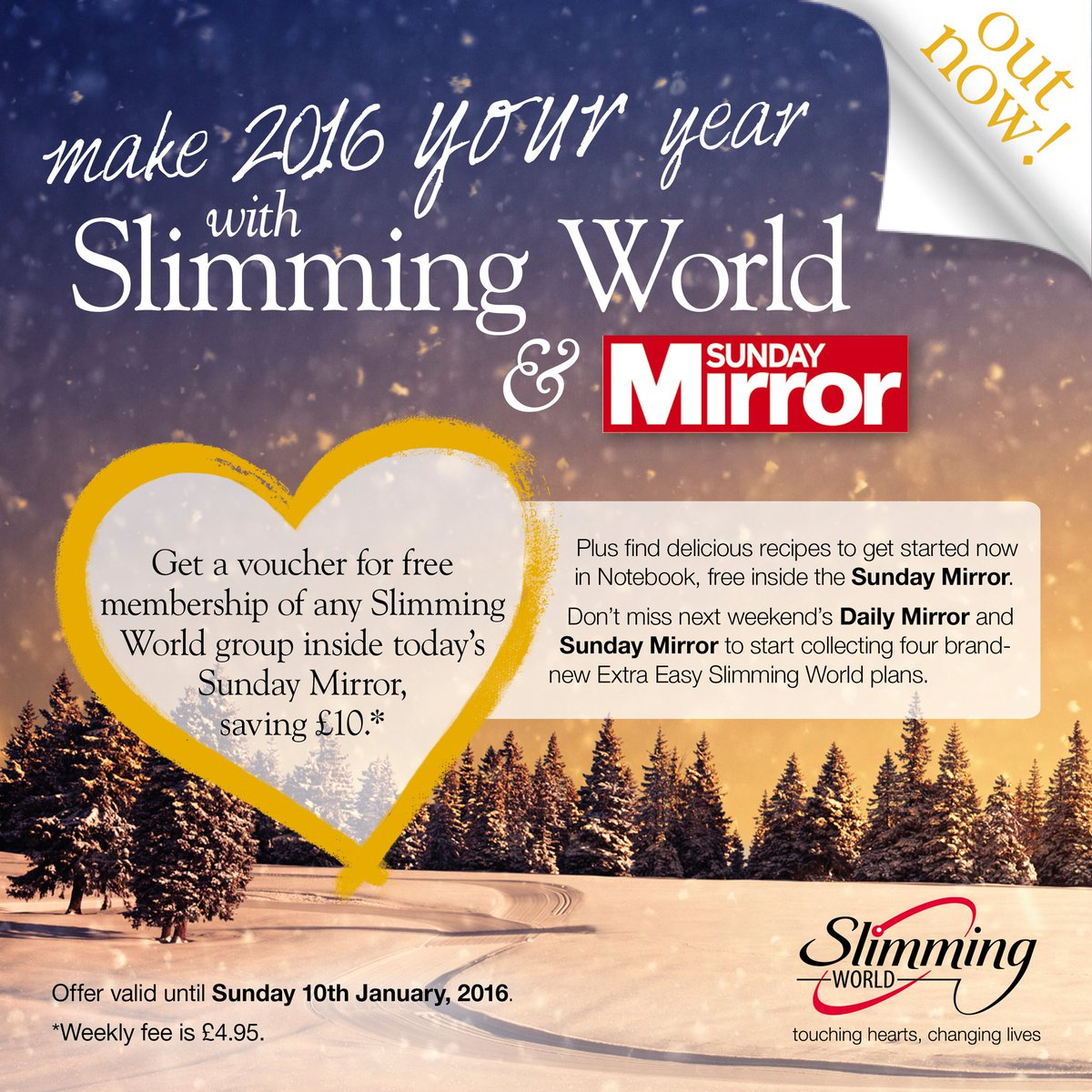 Slimming World On Twitter Free Slimmingworld Membership In Today 39 S Sunday Mirror Plus