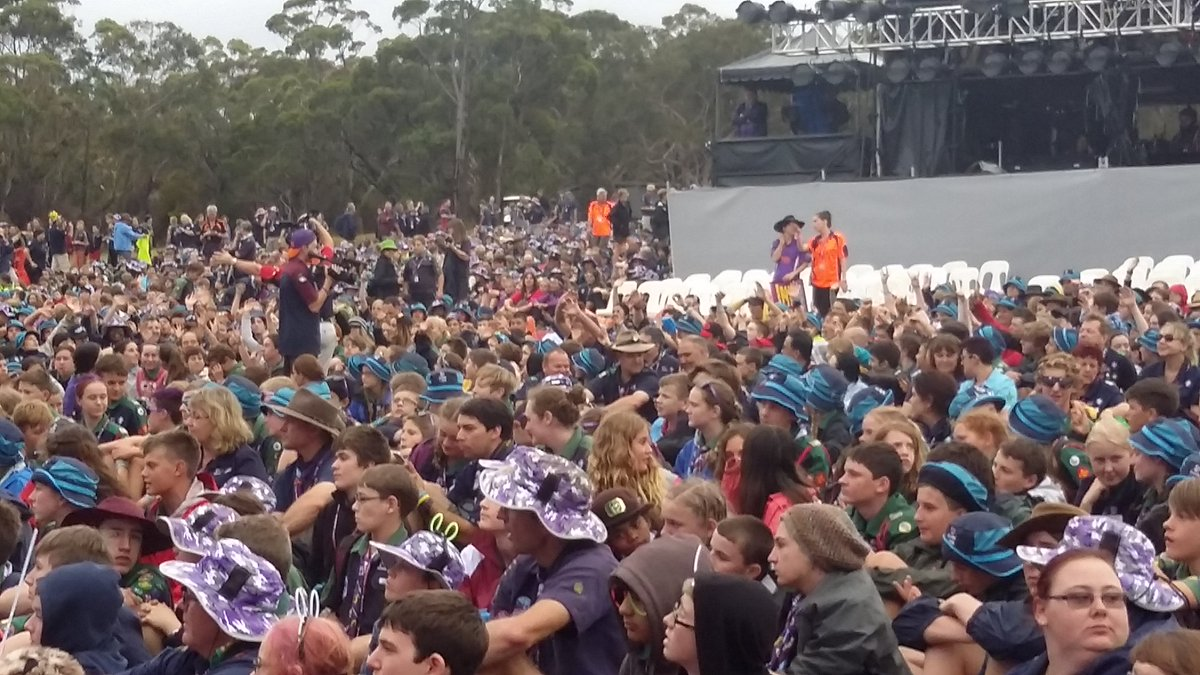 Just some of the scouts for opening ceremony #LeapIntoAdventure #AJ2016 https://t.co/dsYlOBNXg0