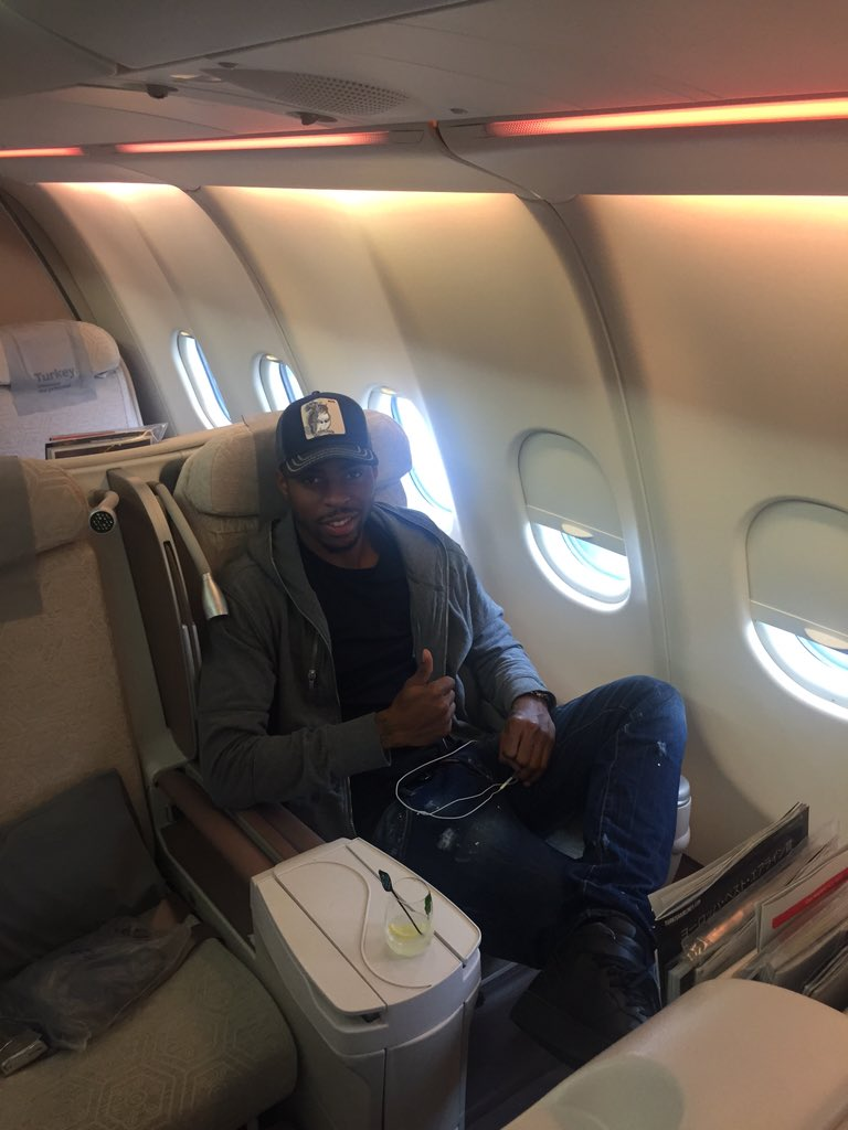 Flying back