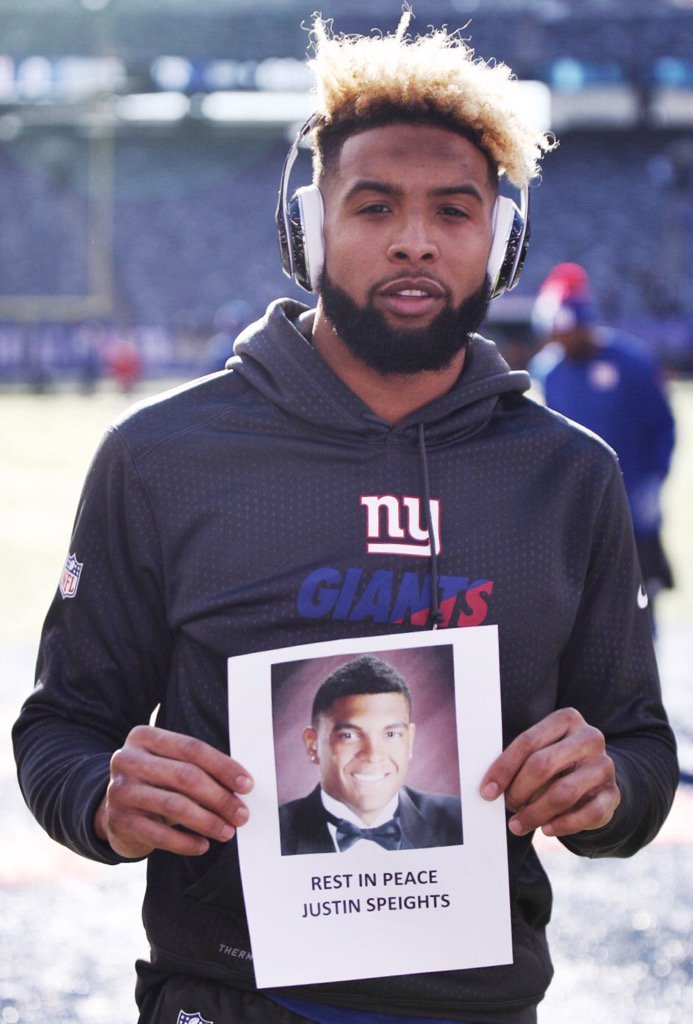 #Giantsforjustin #JustinSpeights #RIP @OBJ_3 https://t.co/k7DKRVSLds