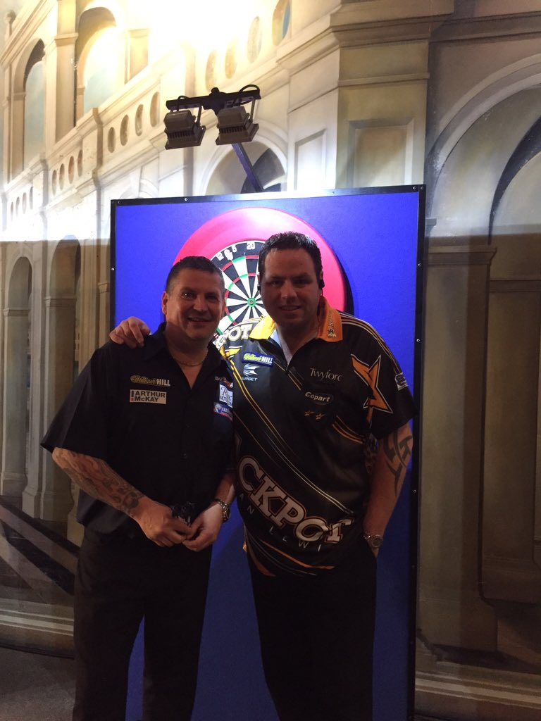 @MvG180 @PhilTaylor @Raybar180 wish your were here lads