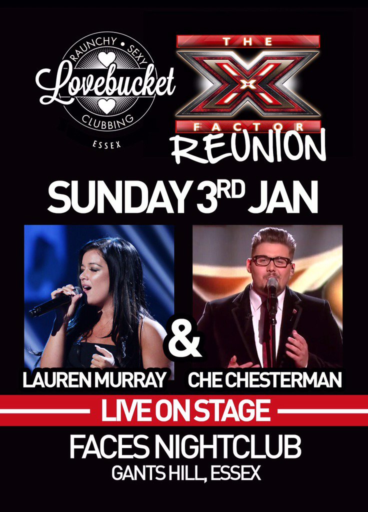 The look for tonight! Starting 2016 in style! @laurenmurray @CheChesterman live on stage! @lovebucketclub #XFactor https://t.co/OBPSUO31Ug