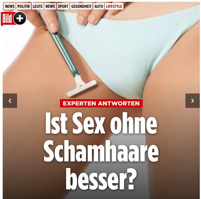 Sex ohne schamhaare besser